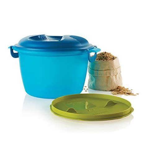 Rice Cooker Tupperware for white or brown rice no more boiling on the