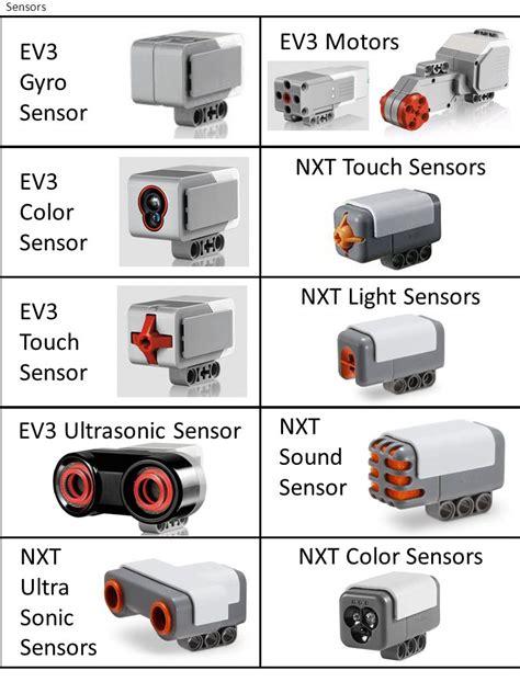 ev3 color sensor ev3 motors ev3 gyro sensor nxt touch sensors ev3 color