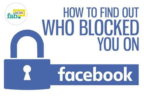 How To Find Blocked On How To Find Out Who Blocked You On Fab How