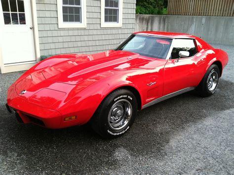 l 48 corvette 1975 chevrolet corvette l 48 stingray cars trucks for