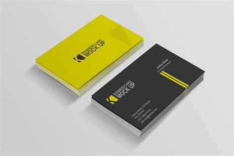 Business Card Template Pack by 40 Really Creative Business Card Templates Webdesigner Depot