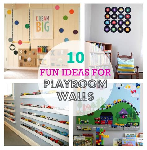 thrive 360 living 10 ideas for playroom walls