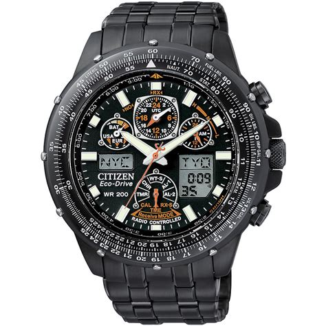 citizen jy0005 50e mens sky hawk a t chronograph alarm