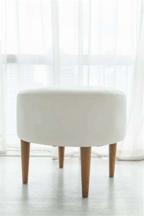 What Causes Stool To Be White by White Stool Chair Photo Free