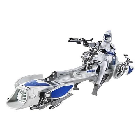 Wars Trooper Vehicles by Wars Clone Wars Clone Trooper With Barc Speeder