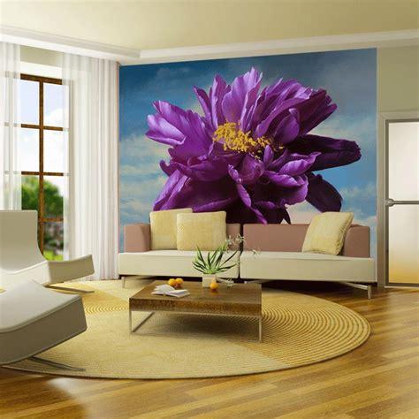 purple flower wallpaper for living room popular purple flower wallpaper buy cheap purple flower wallpaper lots from china purple flower