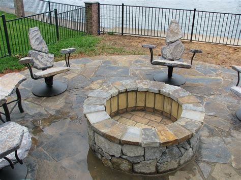 Hand Made Fire Pit Chairs By Stone 2 Furniture Firepit Chairs