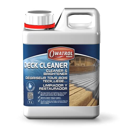 deck cleaner boat deck cleaner owatrol usa