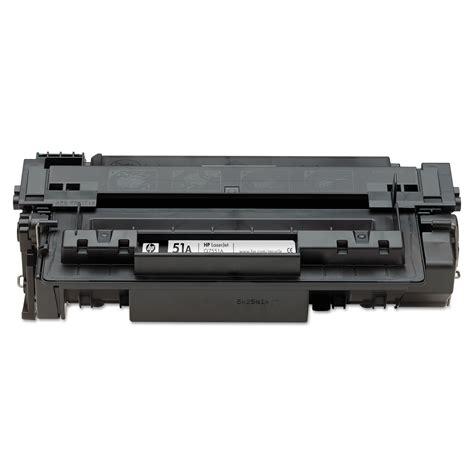 Toner Hp 51a Black 1 hp 51a by hp hewq7551a ontimesupplies