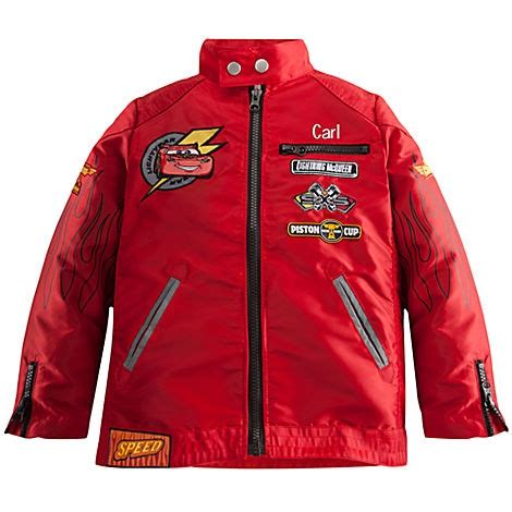 Lightning Mcqueen Race Car Jacket Personalizable Lightning Mcqueen Jacket For Boys For