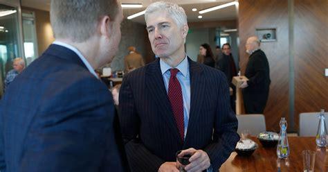 judge neil gorsuch is a front runner for trump s supreme trump s supreme court pick meet judge neil gorsuch