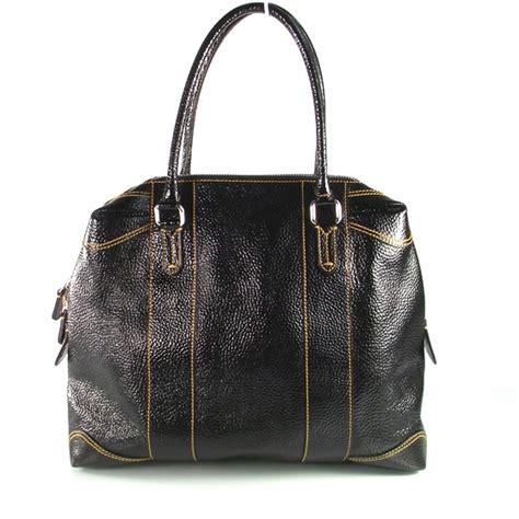Fendi B Mix Duffle by Fendi Patent Leather B Mix Tote 14732