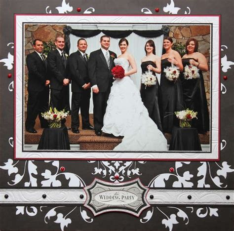 layout of wedding party 1000 images about scrapbooking layouts weddings on