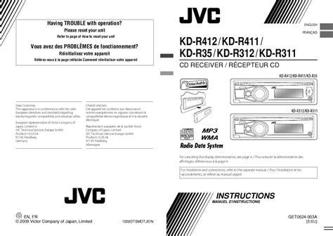 Voiture Meilleur Rapport Qualité Prix 4253 by Notice Jvc Kd R411 Voiture Trouver Une Solution 224 Un