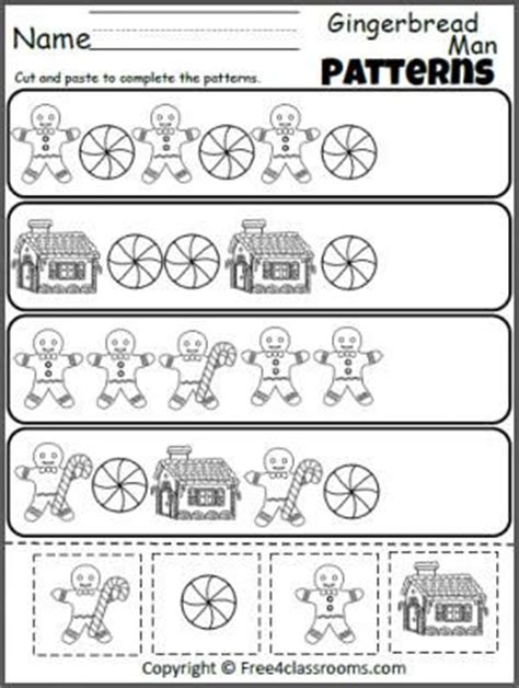 pattern review math pattern worksheets for kindergarten cut and paste