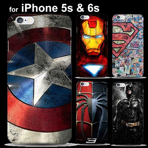 The Calling Batman Comic Iphone Iphone 6 5s Oppo F1s Redmi marvel comics iron batman painted for cover iphone 5 5s 6 6s fundas