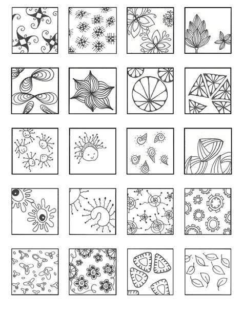 zentangle pattern charts 1000 images about zentangle patterns on pinterest