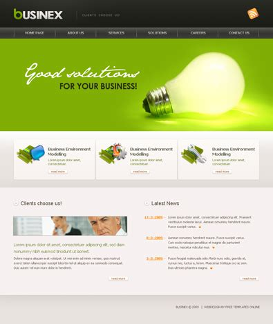 html free templates businex free templates
