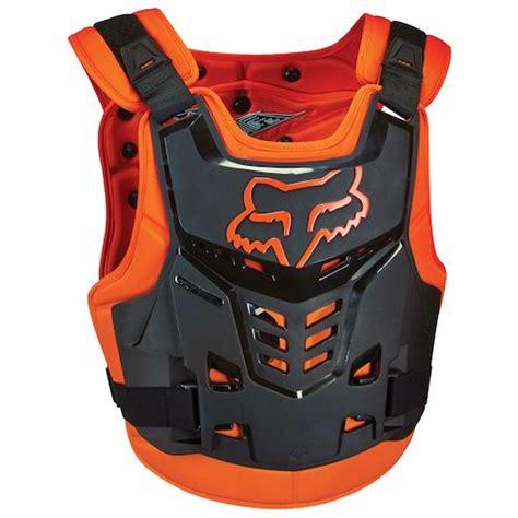 fox motocross chest protector fox racing proframe lc protector revzilla