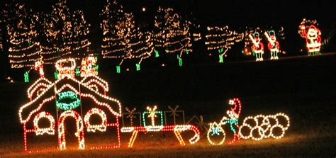 places to see christmas lights holiday attractions in