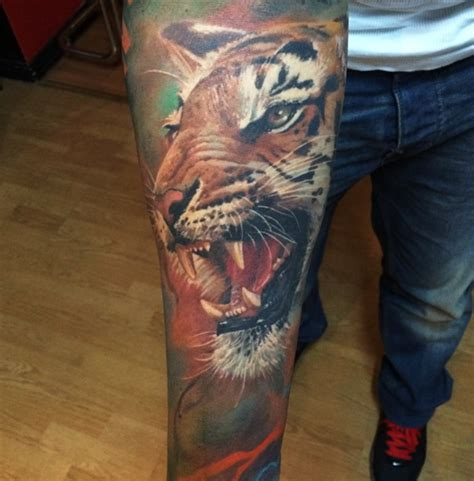 tattoo tiger instagram stunning tiger tattoos by tattoo artist dmitriy samohin