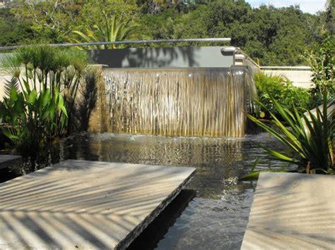 Gartengestaltung Mit Wasserfall by Moderne Gartengestaltung Mit Wasserfall Nowaday Garden