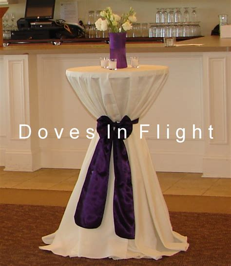 Decorating Cocktail Tables by Chair Covers Of Lansing Table Decorations