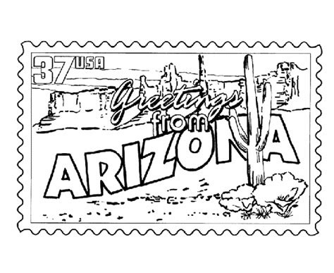 desert coloring pages for kids az coloring pages cactus coloring arizona desert p o postcard r da ed e c aa