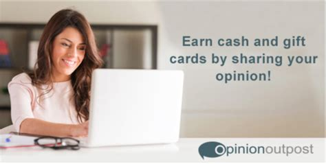 How Does Taking Surveys For Money Work - make extra money at home by taking surveys at opinion outpost pretty opinionated