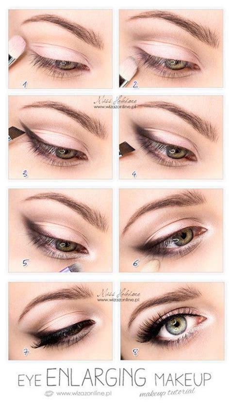 eyeliner tutorial to make eyes look bigger how to make your eyes look bigger magnifying make up