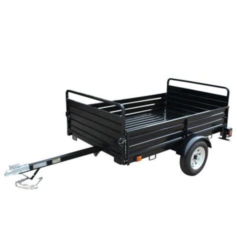 altocraft 1639 lb 4 in 1 utility dump trailer at5288m