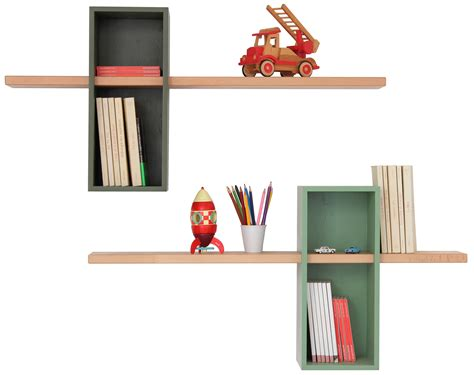 shelf max xl simple 2 boxes 2 shelves olive green