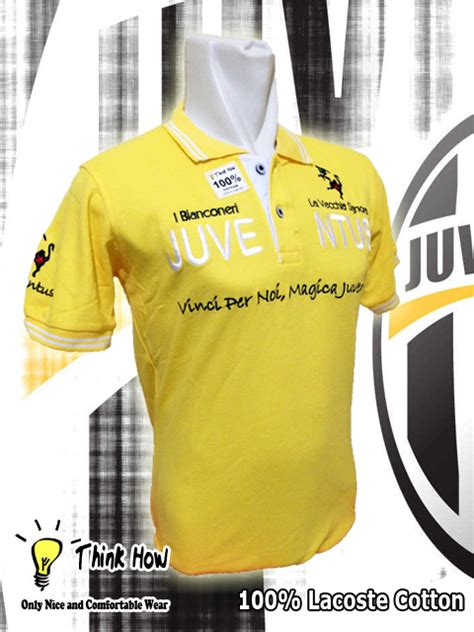 Kaos Juventus Terbaru New Logo J04 grosir kaos polo katun keith vily s press