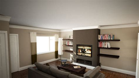 Bedroom Layout Chimney Breast Feature Chimney Breast Interior Design Feature Walls