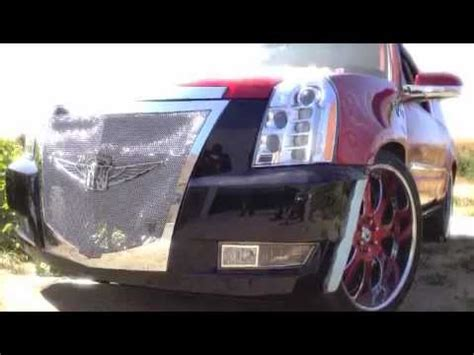 Stop L Japs Costum Grill all wired custom grills escalade platinum