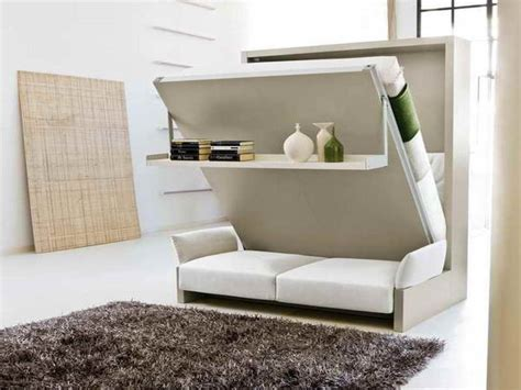 beautiful murphy bed desk  white leather loveseat
