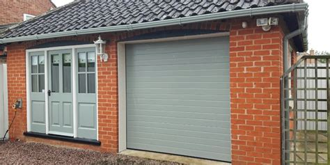Insulating Garage Door Sides by New Insulated Sectional Garage Door Grantham East