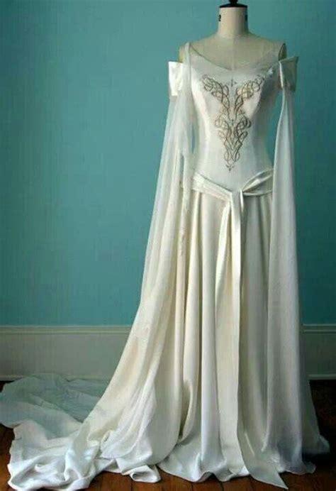 celtic wiccan pagan wedding handfasting gown wedding