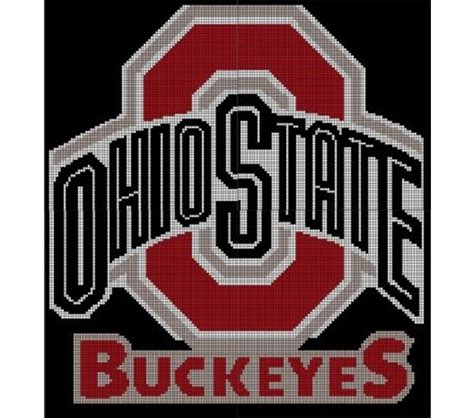 ohio state football colors 253 best images about crochet osu stuff on
