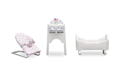 lundby dolls house furniture buy lundby smaland doll house baby furniture set 2045
