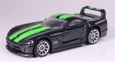 green and black viper matchbox dodge viper gtsr concept