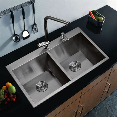 double sink kitchen modern kitchen sink designs that look to attract attention