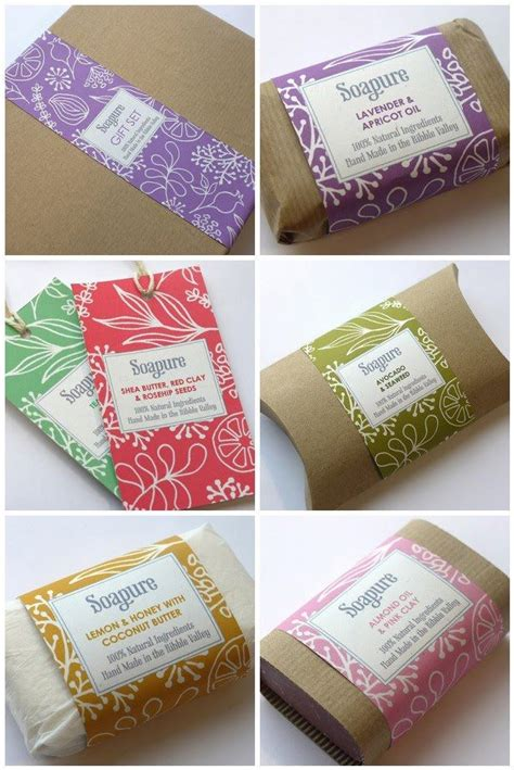 Handmade Soap Labels - top soap packaging ideas images for tattoos