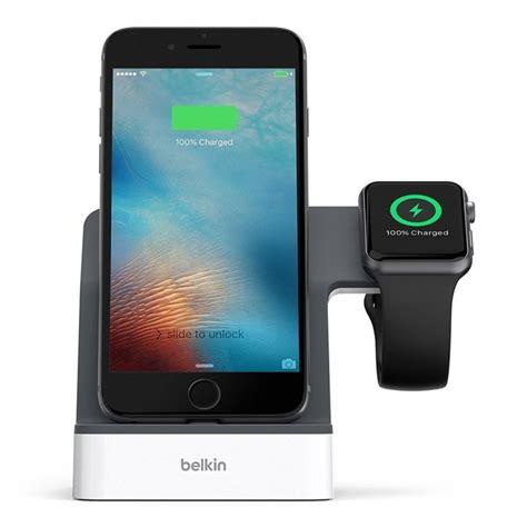 belkin powerhouse charge dock  iphone  apple