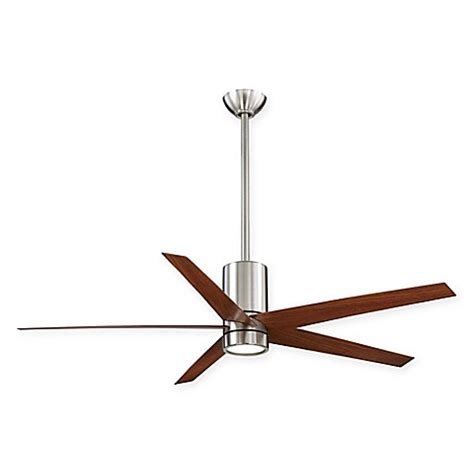 bed bath and beyond ceiling fans minka aire 174 symbio 56 inch ceiling fan with remote control