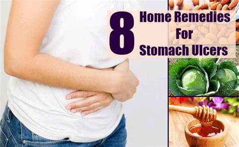 8 home remedies for stomach ulcers remedy