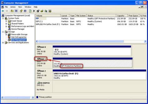 format hardisk melalui diskpart menghilangkan gpt protective partition catatan asal