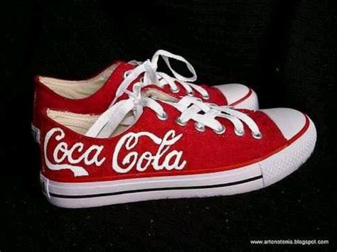 coca cola sneakers coke shoes need to make these for fashion
