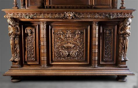 How To Decorate A Dining Room Buffet by Antique Neo Renaissance Style Furniture Made Out Of Carved