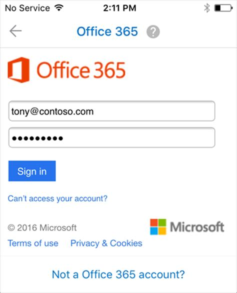 Office 365 Outlook Iphone Setup Apple Ios Accredited Degrees Research And Health Care